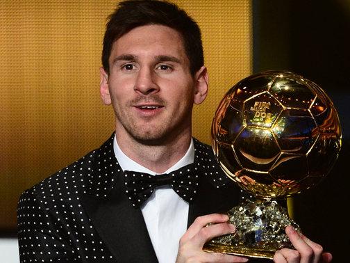 Messi's 4th Ballon d'Or