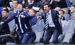 AVB and Steffen Freund celebrate