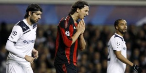 Ibrahimovic Champs League disappointment