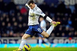 Gareth Bale strikes