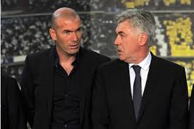 Ancelotti and Zidane