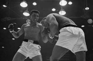 Cassius Clay vs Sonny Liston