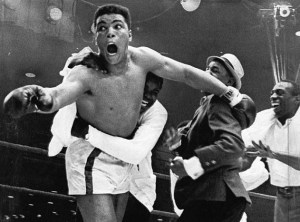 Cassius Clay shocks the world
