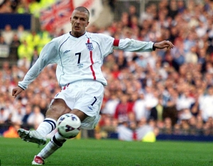 Campbell believes he was a better fit for the England captaincy than Beckham