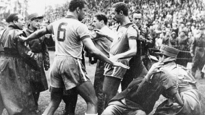 Hungary's bad tempered quarter-final against Brazil became known as the Battle of Bern