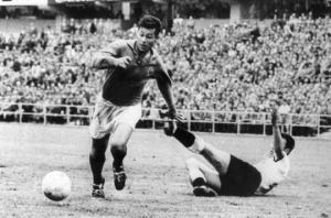 Fontaine scored an unprecedented 13 goals at the 1958 World Cup finals