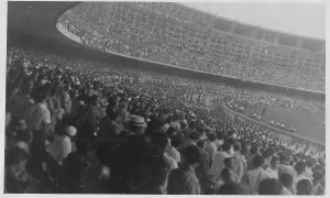 The reported attendance of the 1950 World Cup final was just shy of 200,000