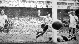 Uruguay beat Brazil
