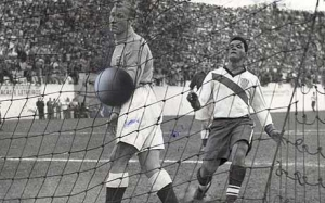 England lose 1-0 to USA at the 1950 World Cup