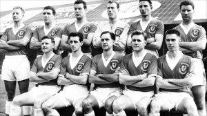 Wales squad 1958