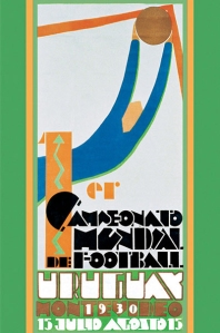 Official 1930 World Cup poster
