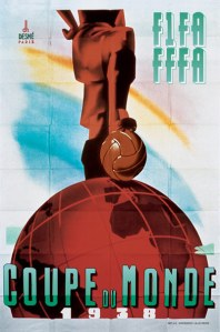 Official 1938 World Cup poster