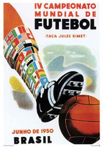 Official Uruguay 1950 poster