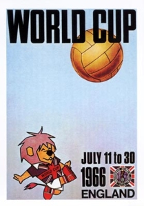1966 Official World Cup Poster