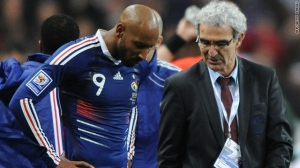 Anelka was sent home from the World Cup following his tirade at coach Domenech