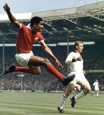 Eusebio in action at Wembley