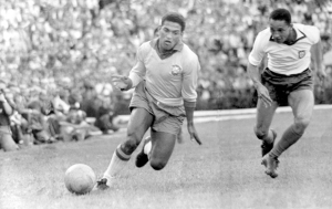 In Pele's absence Garrincha stepped up for Selecao