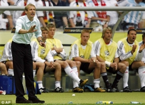 Klinsmann was the man tasked with making Germany a force once more