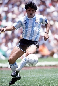 Maradona was at his very best in 1986