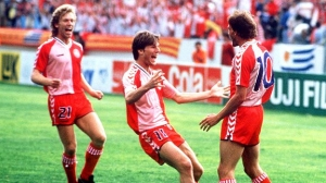 Laudrup and the Danes caused quite a stir during the group stage