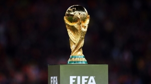 New FIFA World Cup trophy