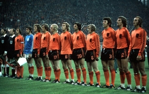 The Netherlands displayed a revolutionary concept  named Total Football