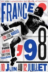 1998 France World Cup poster