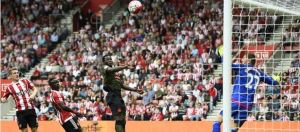 Lukaku opens the scoring against Southampton
