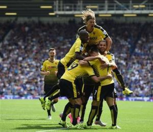 The Hornets almost caused an upset at Goodison Park