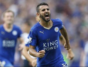 Riyad Mahrez has been in fantastic form all season for the Foxes