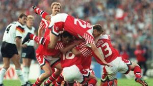 Denmark upset the odds to win the 1992 Euros