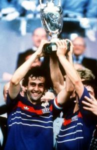 France hosted and won the 1984 Euros