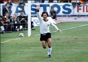 Gerd Muller finished top scorer at the 1972 Euros
