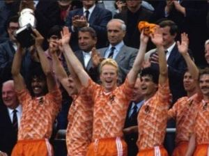 Holland made it third final lucky after defeats in the '74 and '78 World Cup Finals