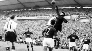 Lev Yashin in action