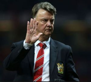 Louis van Gaal will wave goodbye to United after two seasons