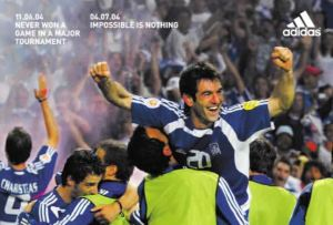 Greece's triumph was a marketing dream for Adidas