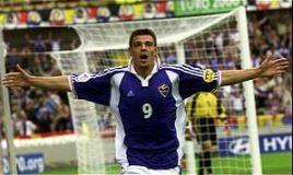 Yugoslavia's Savo Milosevic was joint top scorer at Euro '00