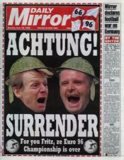 The Daily Mirror's coverage of the semi-final