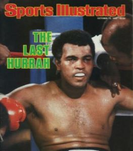 Ali's defeat to Holmes was billed as the Last Hurrah but he would fight one more time - vs Berbick