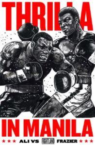Official Thrilla in Manila poster