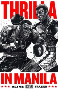 Official Thrilla in Manila poster